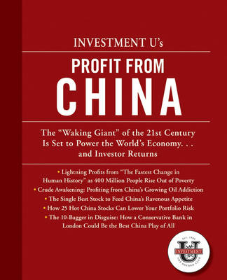 Investment University's Profit from China (Paperback)