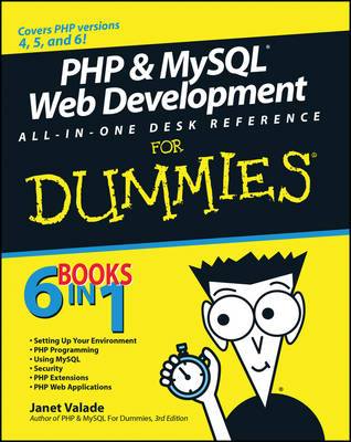 PHP and MySQL Web Development All-in-One Desk Reference For Dummies (Paperback)
