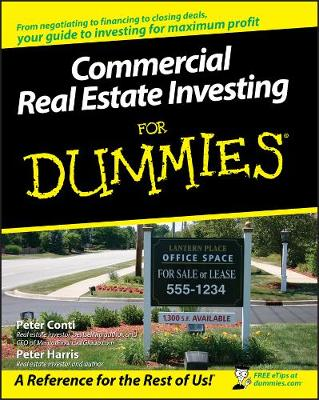 Commercial Real Estate Investing For Dummies (Paperback)