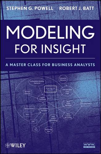 Modeling for Insight: A Master Class for Business Analysts (Paperback)