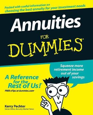 Annuities For Dummies (Paperback)