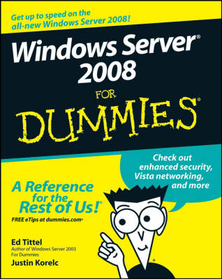 Windows Server 2008 For Dummies (Paperback)