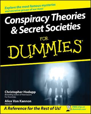 Conspiracy Theories and Secret Societies For Dummies (Paperback)