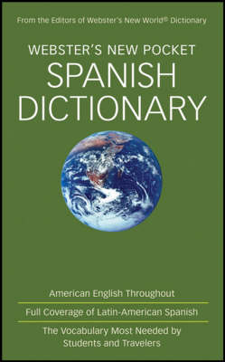 Webster's New Pocket Spanish Dictionary (Paperback)