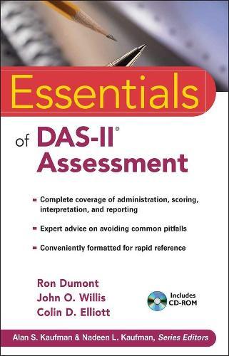 Essentials of DAS-II Assessment - Essentials of Psychological Assessment (Paperback)