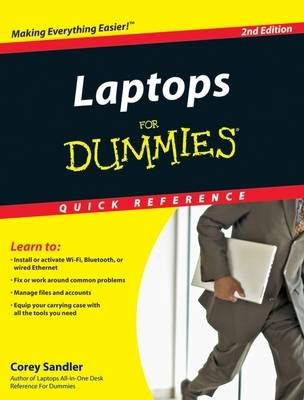 Laptops for Dummies Quick Reference (Paperback)