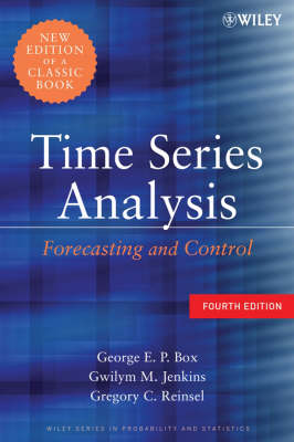 Time Series Analysis: Forecasting and Control - Wiley Series in Probability and Statistics (Hardback)