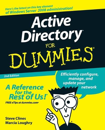 Active Directory For Dummies (Paperback)