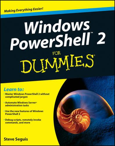 Windows PowerShell 2 For Dummies (Paperback)