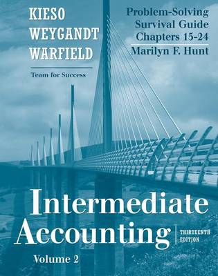 Intermediate Accounting: Problem Solving Survival Guide v. 2, Chapters 15-24 (Paperback)