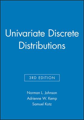 Univariate Discrete Distributions: Univariate Discrete Distributions, 3e Set Set - Wiley Series in Probability and Statistics (Hardback)