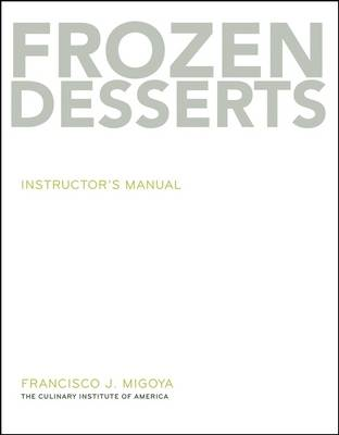 Frozen Desserts: Instructor's Manual (Paperback)