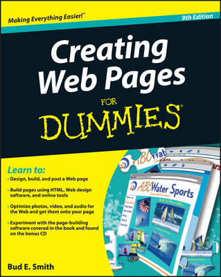 Creating Web Pages For Dummies (Paperback)