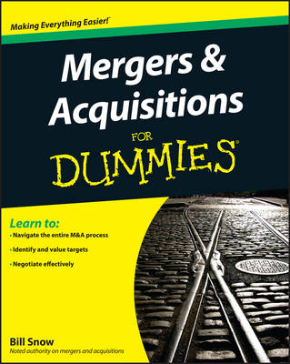 Mergers and Acquisitions For Dummies (Paperback)