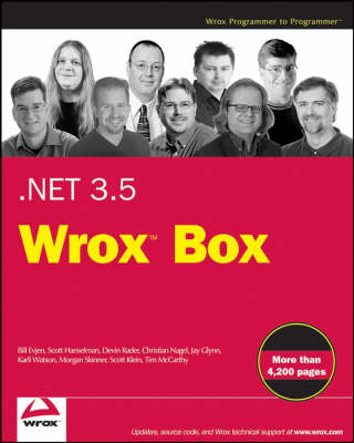 NET 3.5 Wrox Box: Professional ASP.NET 3.5, Professional C# 2008, Professional LINQ, .NET Domain-Driven Design with C# (Paperback)