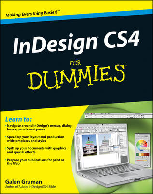 InDesign CS4 For Dummies (Paperback)