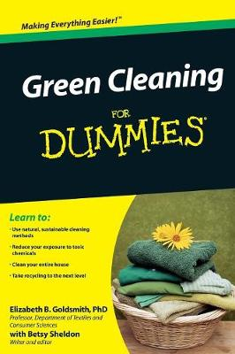Green Cleaning For Dummies (Paperback)