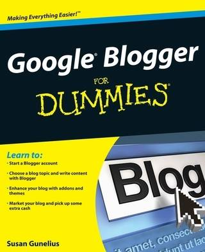 Google Blogger For Dummies (Paperback)