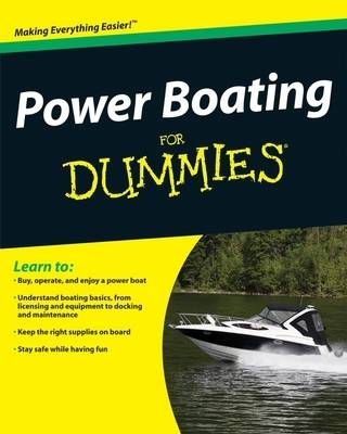 Power Boating For Dummies (Paperback)