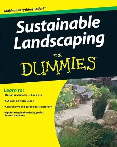Sustainable Landscaping for Dummies (Paperback)