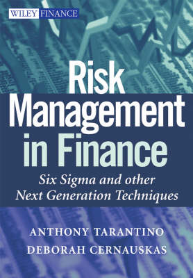 Risk Management in Finance: Six Sigma and Other Next Generation Techniques - Wiley Finance Series (Hardback)