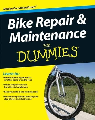 Bike Repair and Maintenance For Dummies (Paperback)