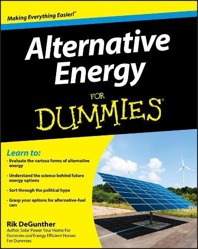 Alternative Energy For Dummies (Paperback)