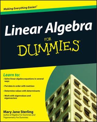 Linear Algebra For Dummies (Paperback)