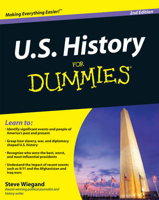 U.S. History For Dummies (Paperback)