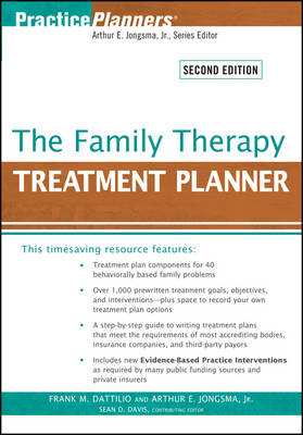 The Family Therapy Treatment Planner - PracticePlanners (Paperback)