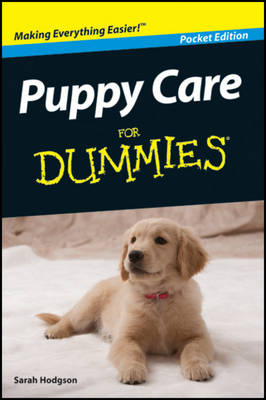Puppy Care For Dummies (Paperback)
