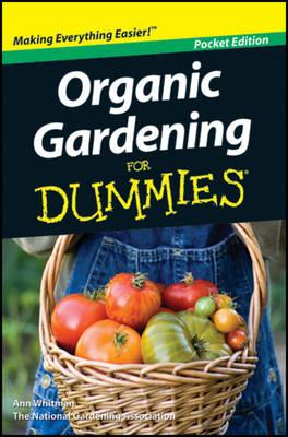Organic Gardening For Dummies (Paperback)