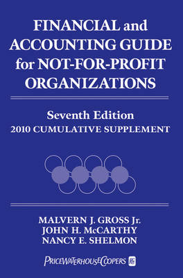Financial and Accounting Guide for Not-for-profit Organizations Cumulative Supplement 2010 (Paperback)