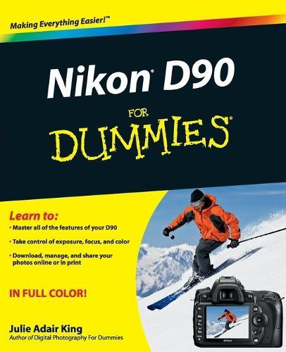 Nikon D90 For Dummies (Paperback)