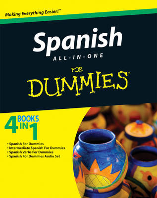 Spanish All-in-One For Dummies (Paperback)