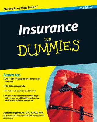 Insurance for Dummies (Paperback)