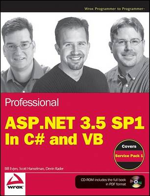 Professional ASP.NET 3.5 SP1 Edition: In C# and VB (Hardback)