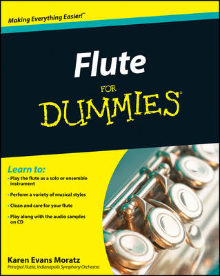 Flute For Dummies (Paperback)