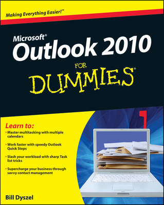 Outlook 2010 for Dummies (Paperback)