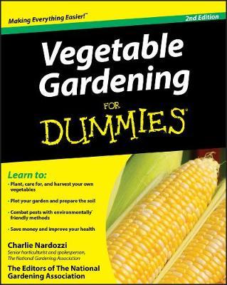 Vegetable Gardening For Dummies (Paperback)