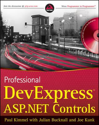 Professional DevExpress ASP.NET Controls (Paperback)