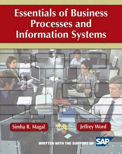 Essentials of Business Processes and Information Systems - Wiley Plus Products (Paperback)