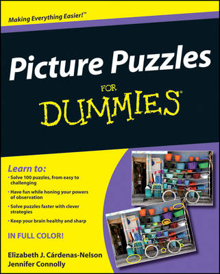 Picture Puzzles For Dummies (Paperback)
