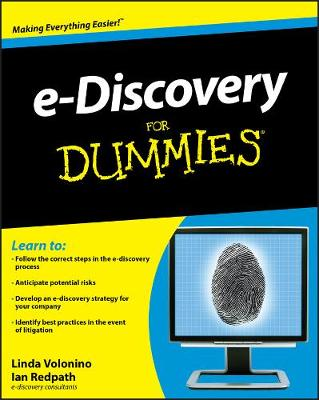 e-Discovery For Dummies (Paperback)