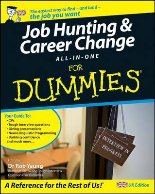 Job Hunting and Career Change All-In-One For Dummies (Paperback)