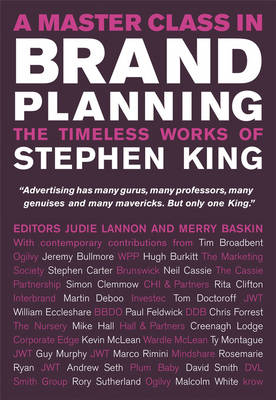 A Master Class in Brand Planning: The Timeless Works of Stephen King (Hardback)