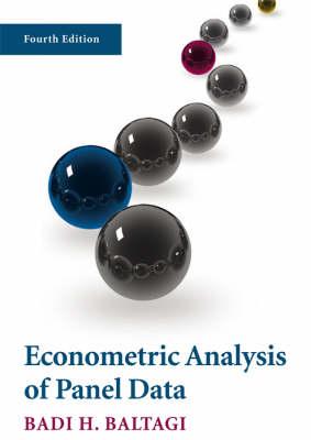 Econometric Analysis of Panel Data (Paperback)