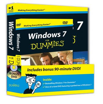 Windows 7 For Dummies, Book + DVD Bundle (Paperback)