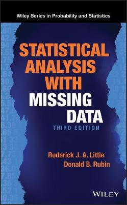 Statistical Analysis with Missing Data - Wiley Series in Probability and Statistics (Hardback)