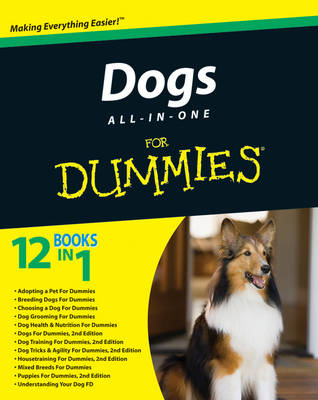 Dogs All-in-One For Dummies (Paperback)
